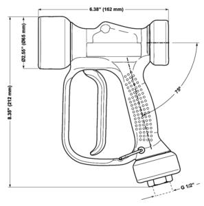 CU316JB spray gun diagram