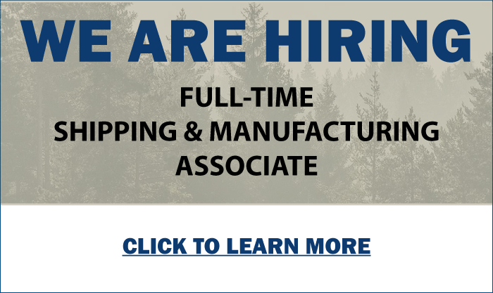 Now Hiring Full-Time Shipping & Manufacturing Associate